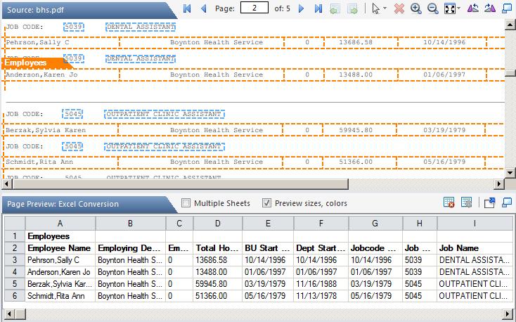 Using a PDF to Excel Converter to Eliminate Redundancies