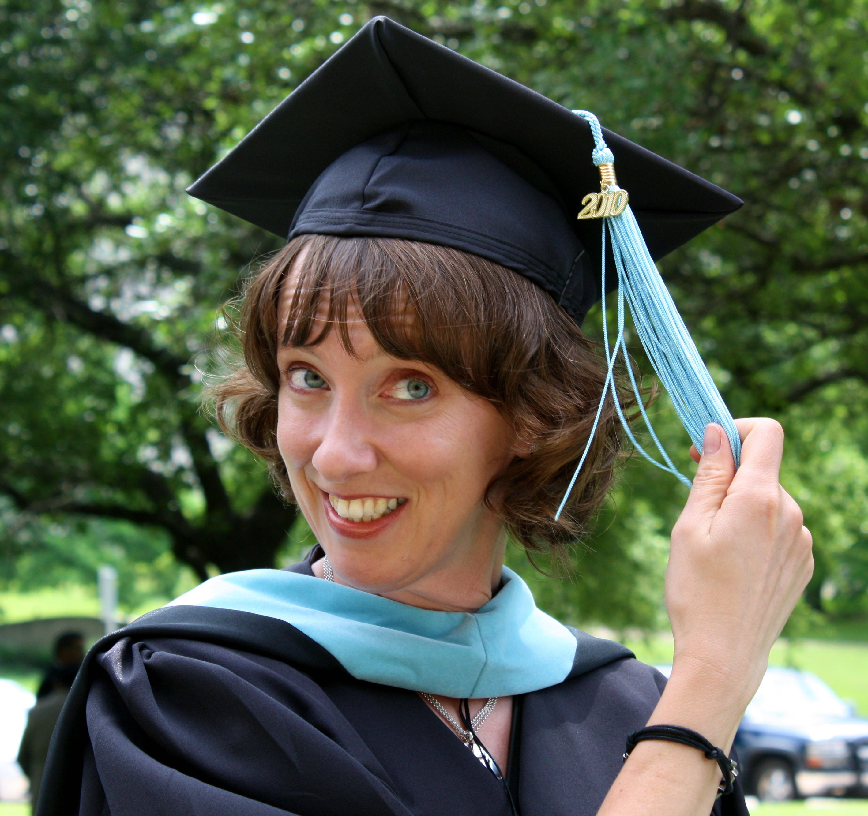 Graduating with a Master's Degree after Writing a Brilliant Thesis