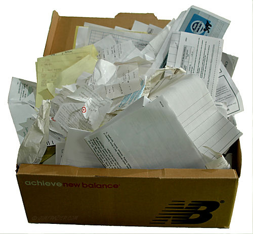 Get Rid of the Shoebox by Using a PDF to Excel Converter
