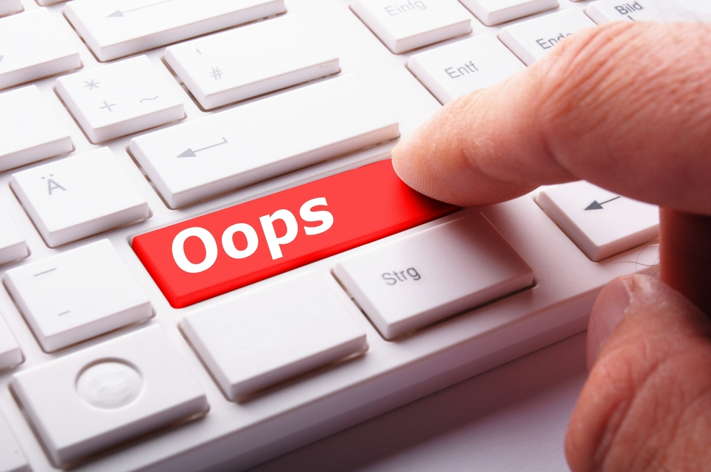 Data Entry Mistakes