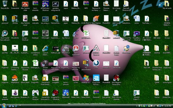 Too Many Icons on Desktop