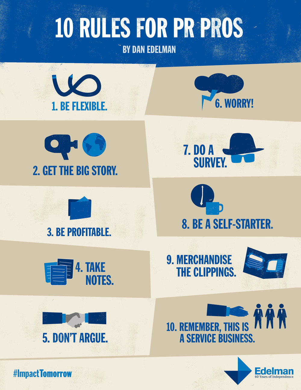 10 Rules for PR Pros