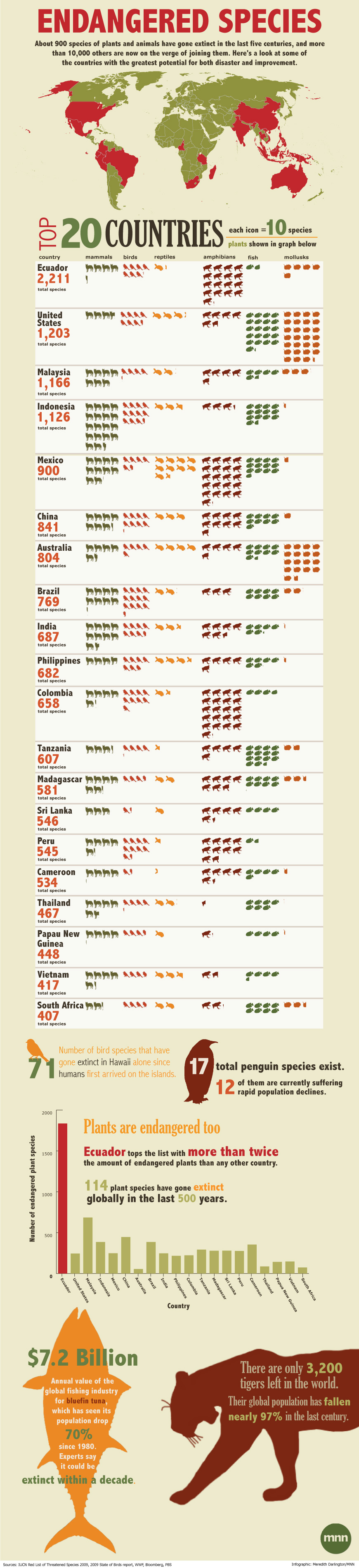 Endangered Species Infographic