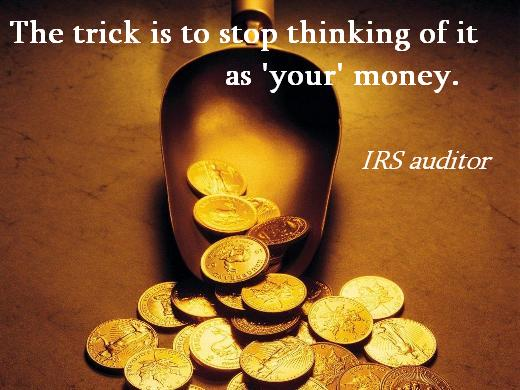 IRS Auditor Quote