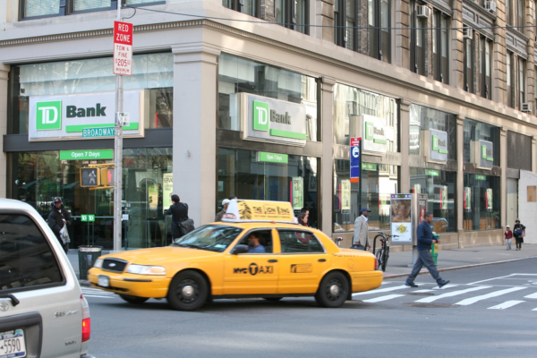 TD Bank in New York